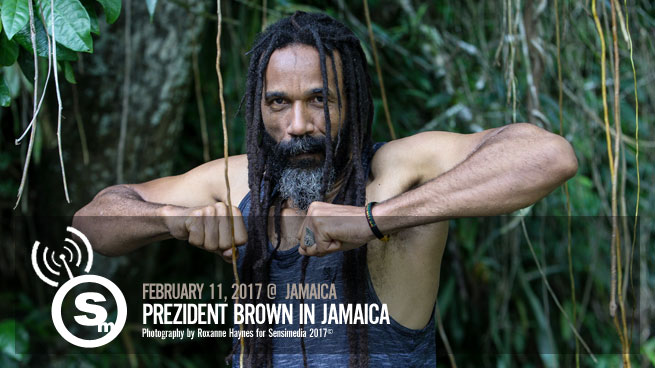 Prezident Brown in Jamaica