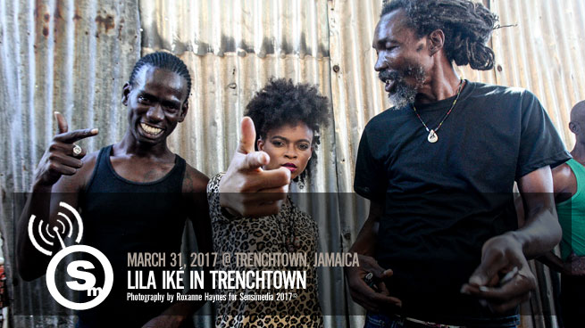 Lila Ike in Trenchtown