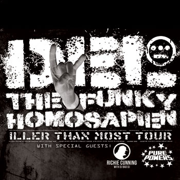 Del The Funky Homosapien's Iller Than Most Tour