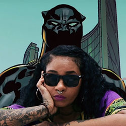 Jean Grae Teams With Marvel's Black Panther