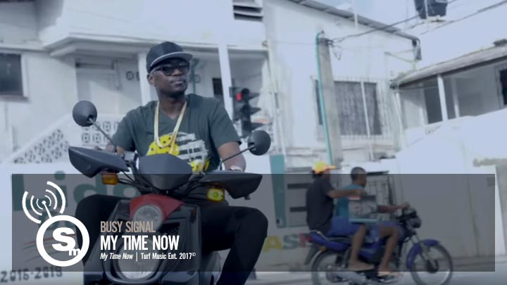 Busy Signal -  My Time Now