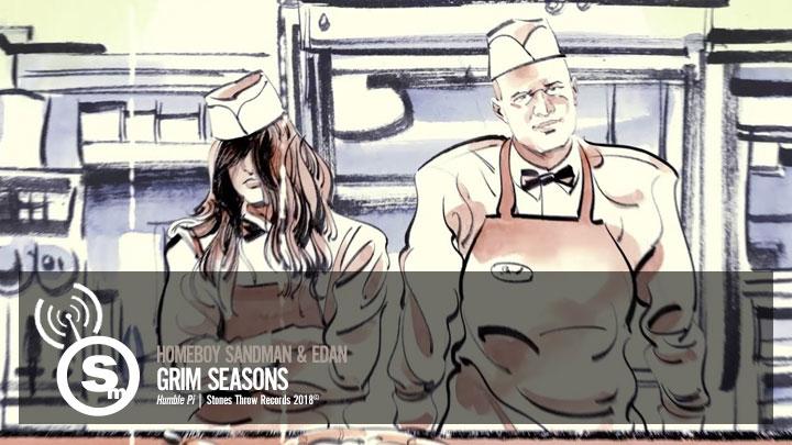 Homeboy Sandman & Edan - Grim Seasons