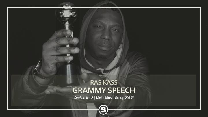Ras Kass - Grammy Speech