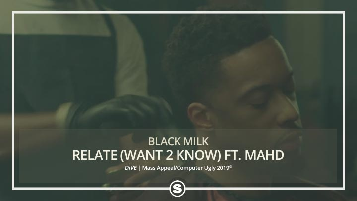 Black Milk - Relate (Want 2 Know) ft. MAHD