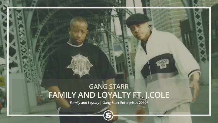 Gang Starr - Family and Loyalty ft. J.Cole