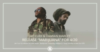 "Jah Cure & Damian Marley Drop ""Marijuana"" for 4/20"