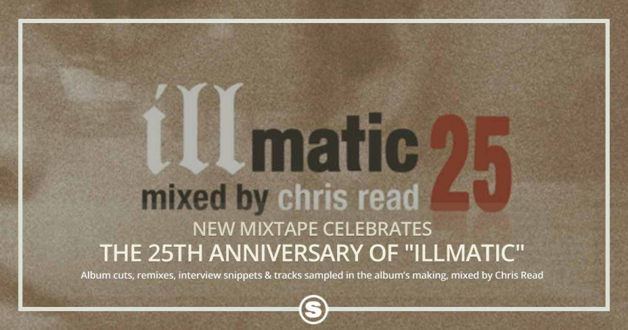 "New Mixtape Celebrates The 25th Anniversary of Nas' ""Illmatic"""