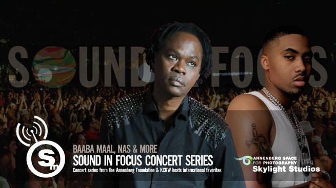 Sound in Focus Hosts Nas & Baaba Maal