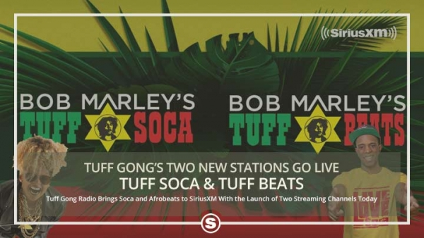 Tuff Gong's Two New Stations Launch on SiriusXM
