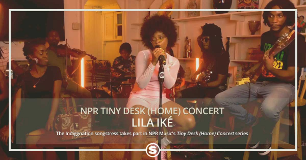 NPR Tiny Desk Concert with Lila Iké