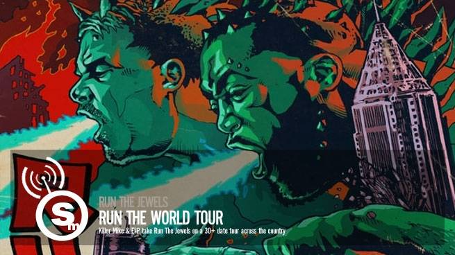 Run The Jewels' Run The World Tour