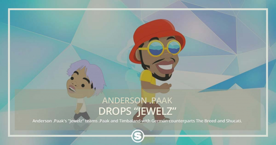 "Timbaland, The Breed & Shucati team up for Anderson .Paaks ""Jewelz"""