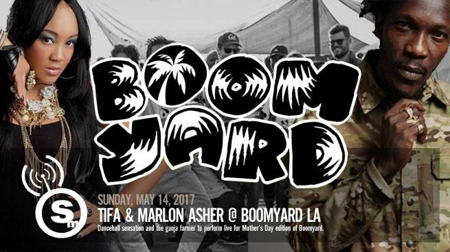 Spend Mother's Day with Tifa, Marlon Asher & Boomyard LA