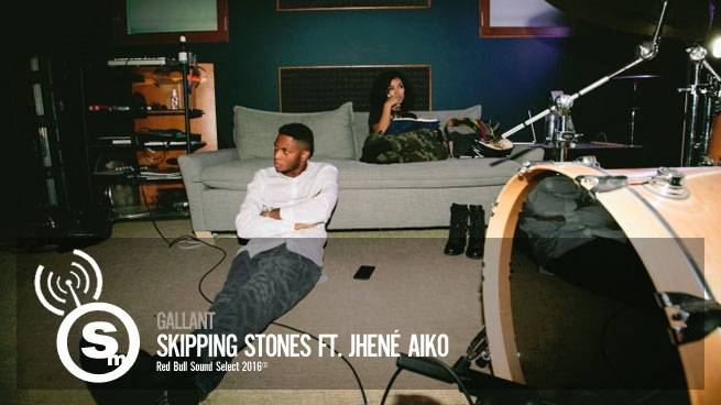 "Gallant Enlists Jhené Aiko for ""Skipping Stones"""