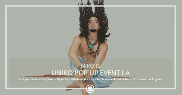Niko Is Uniko Pop Up Event in LA